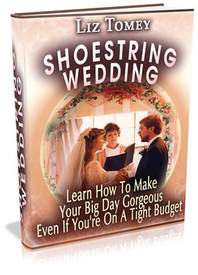 Product picture A GUIDE ON HOW TO HAVE A WEDDING ON A SHOESTRING BUDGET