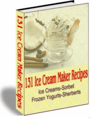 Product picture 131+ ICE CREAM MAKER RECIPES SORBET SHERBERT RECIPES + MORE