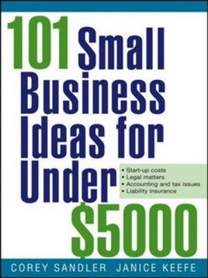 Product picture 101 SMALL BUSINESS IDEAS FOR UNDER 2500